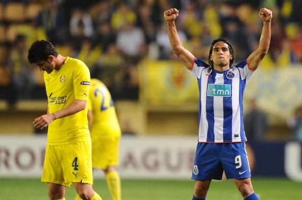 FC Porto's Colombian forward Radamel Fa