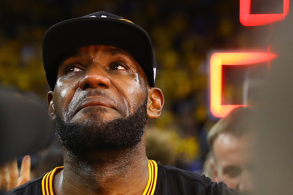 LeBron James hace historia | Getty Images