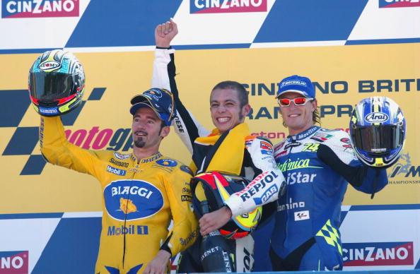 Max Biaggi Valentino Rossi Sete Gibernau - Sphera Sports
