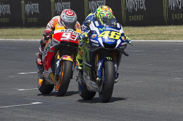 Valentino Rossi Marc Márquez - Sphera Sports