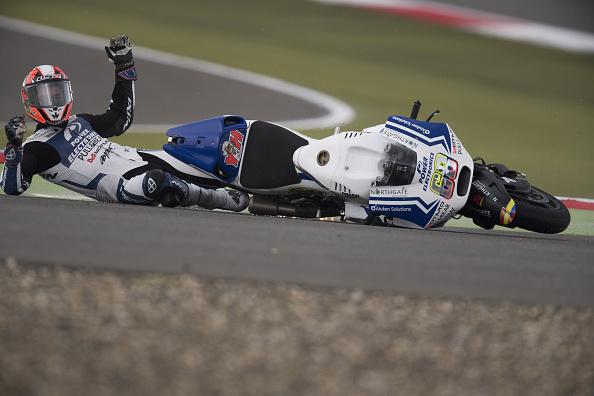 Yonny Hernández crash MotoGP Assen 2016 - Sphera Sports