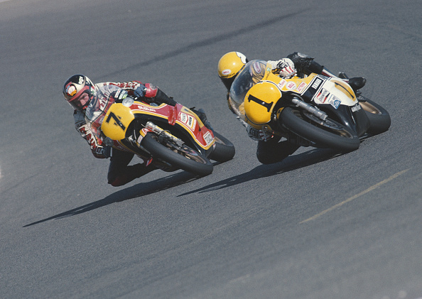 Barry Sheene Suzuki Kenny Roberts Yamaha 500cc - Sphera Sports