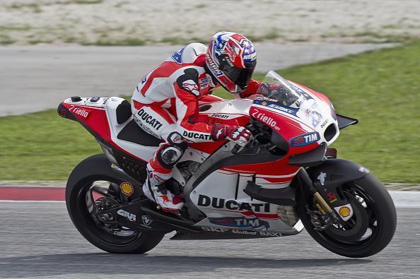 Casey Stoner test Ducati