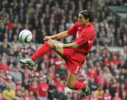 Milan Baros con el '5' en su etapa como 'red'   Getty Images