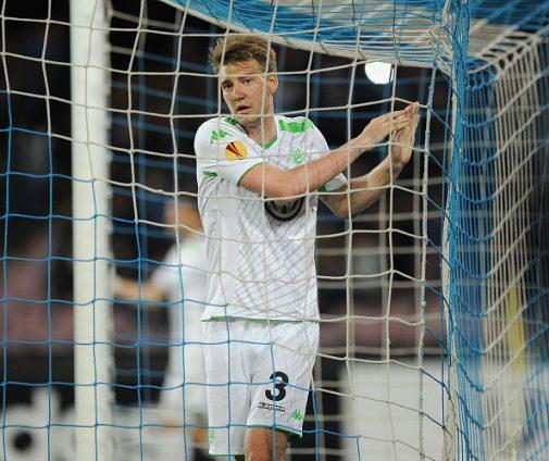 Nicklas 'Lord' Bentdner en su época como delantero del Wolfsburg   Getty Images