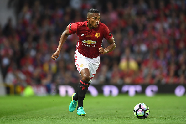 MANCHESTER, ENGLAND - AUGUST 03: Antonio Valencia of Manchester United in action during the Wayne Rooney Testimonial match between Manchester United and Everton at Old Trafford on August 3, 2016 in Manchester, England. (Photo by Michael Regan/Getty Images)