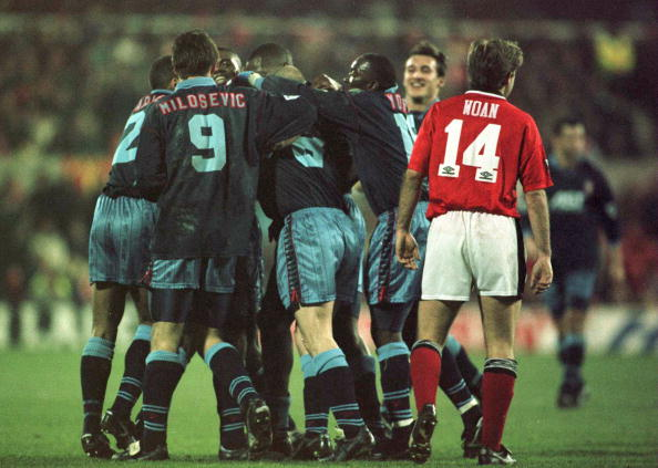 Forest v Villa, 1996 | Getty Images