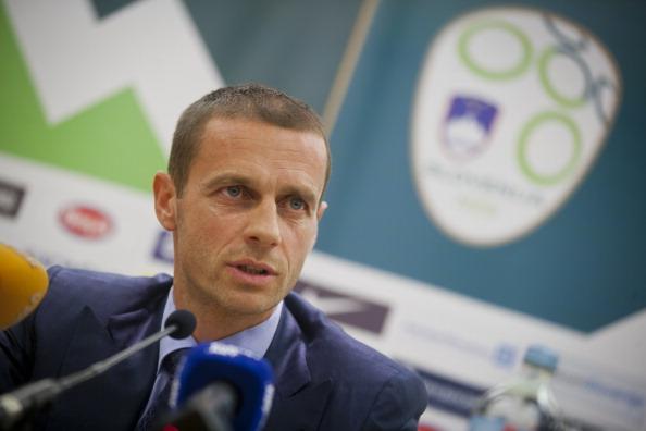 Aleksander Ceferin, presidente de la Federación de Eslovenia   Getty Images