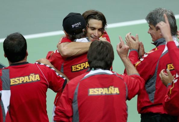 Ferru, siempre al frente de España en la Davis Cup | Getty Images