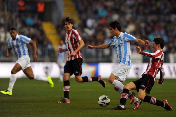 Lucas Piazón en su época como jugador del Málaga   Getty Images