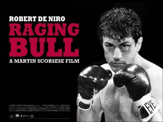 Toro Salvaje, obra maestra protagonizada por Robert de Niro y dirigida por Martin Scorsese