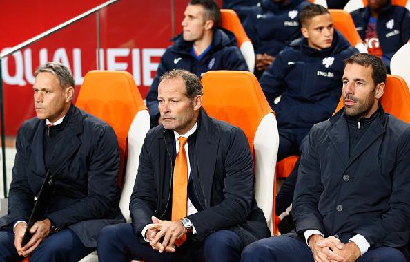 Van Basten, Blind y van Nistelrooy | Getty Images