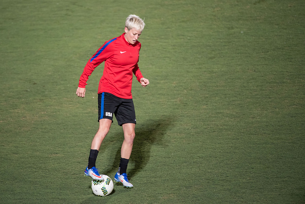 Megan Rapinoe, internacional por los Estados Unidos | Getty Images