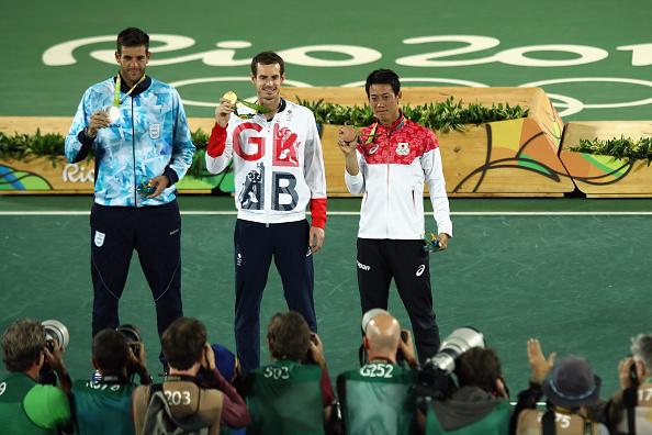 Oro, Murray, plata, Delpo | Getty Images