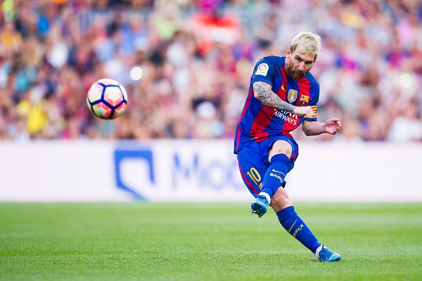 Leo Messi en la primera jornada de Liga | Getty Images