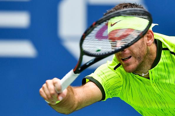 Juan Martín Del Potro avanza a 1/4 de final del US Open | Getty Images