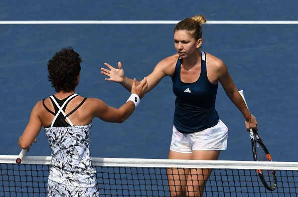 TEN-US OPEN-HALEP-NAVARRO