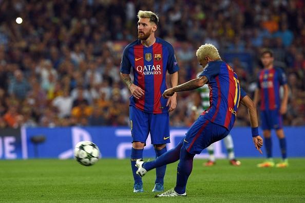 Neymar, un gol y cuatro asistencias hoy | Getty Images