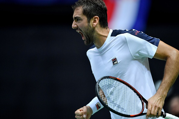 Marin Cilic vs Francia | Getty Images