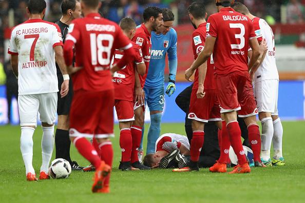 Una horrible entrada que mantendrá a Kohr por varias semanas de baja | Getty Images