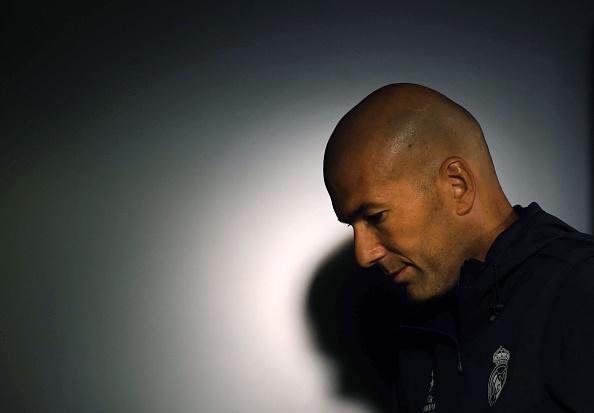 Zidane, en rueda de prensa | Getty