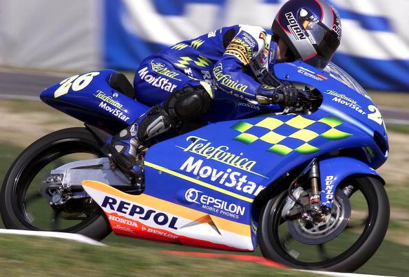 Dani Pedrosa 125cc telefónica - Sphera Sports