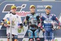 Jorge Navarro Brad Binder Enea Bastianini Moto3 Aragón 2016 - Sphera Sports
