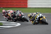 Thomas Luthi Johann Zarco Sam Lowes Moto2 Gran Bretaña 2016 - Sphera Sports