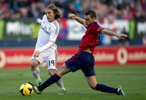 Roberto Torres vs Luka Modric, 2013 | Getty