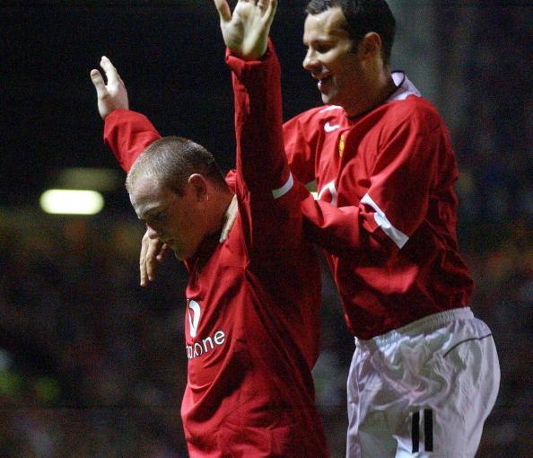 Rooney y su hat trick en 2004 ante el Fenerbahce | Getty