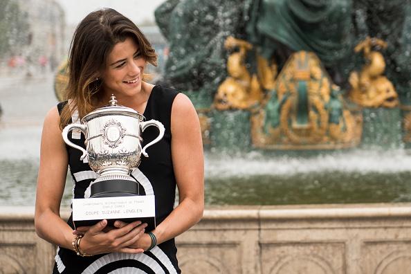 Garbiñe, campeona de Roland Garros 2016   Getty
