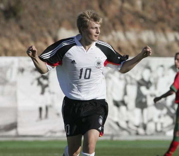 Un jovencísimo Kroos en el europeo sub-17 | Getty
