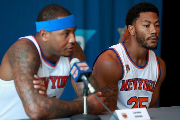 ¿Alguien cree en los Knicks?   Getty