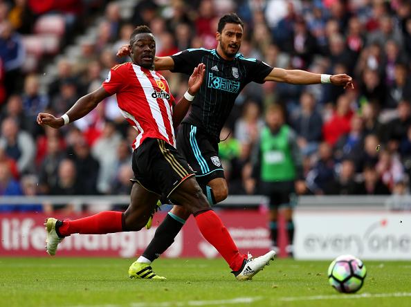 Asi abrió el marcador Chadli ante el Sunderland | Getty