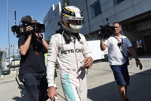 Frustrante resultado para Lewis, hoy en Malasia | Getty