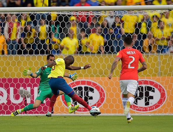 Enner Valencia bate a Bravo en la victoria de Ecuador | Getty