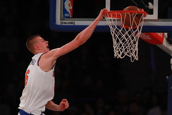 Segunda temporada para el pivot letón en la NBA | Getty