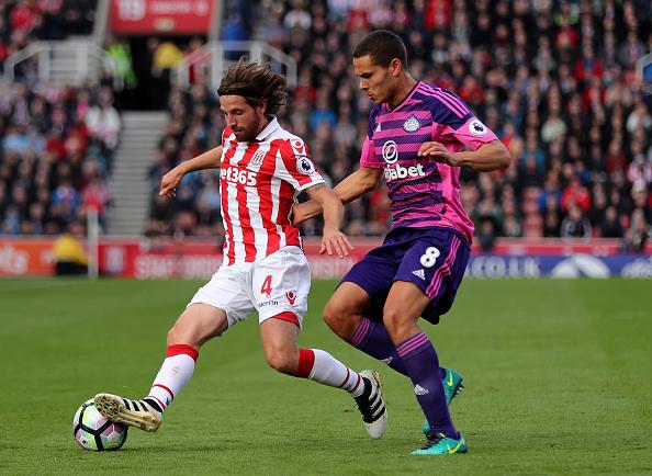 Joe Allen, de profesión, goleador en Stoke-on-Trent | Getty