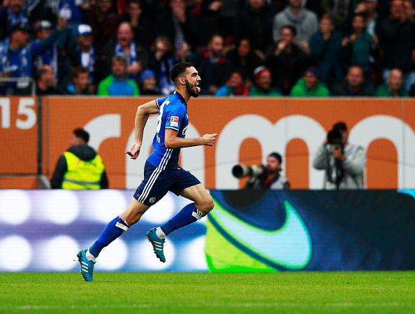 Nabil Bentaleb da un punto al Schalke 04   Getty