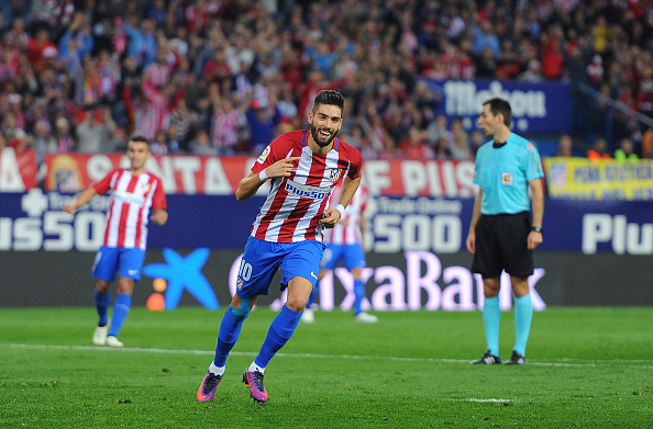 Yannick Carrasco, hat-trick | Getty