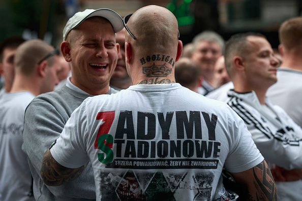 Los ultras del Legia sacudieron Madrid | Getty
