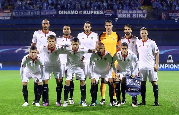El XI del Sevilla en el Maksimir | Getty