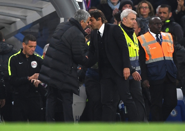 Mourinho vs Conte | Getty