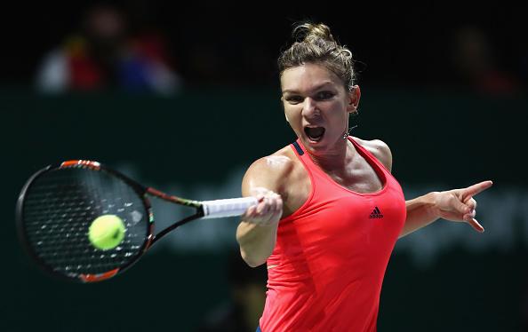 Simona Halep no pudo con Kerber y necesita ganar el último partido ante Cibulkova   Getty