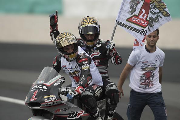 Johann Zarco. Campeón Moto2 2016