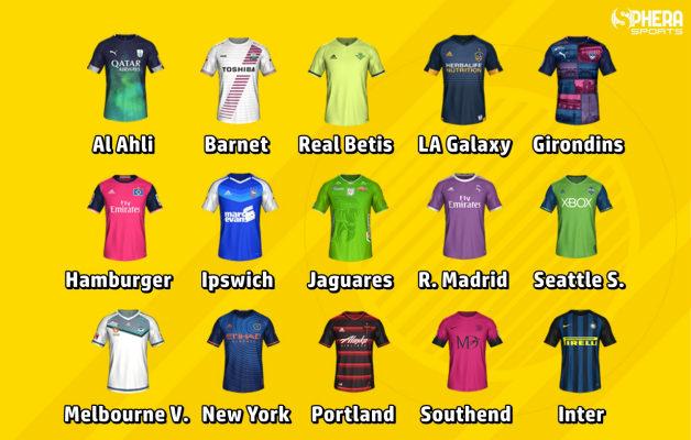 camisetas FIFA 17