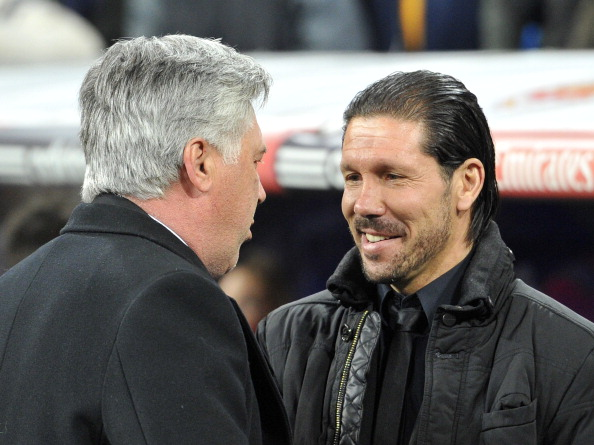 Simeone y Ancelotti | Getty