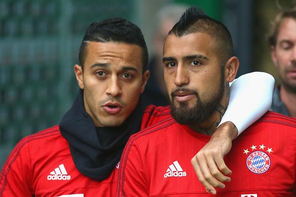 Thiago y Vidal   Getty