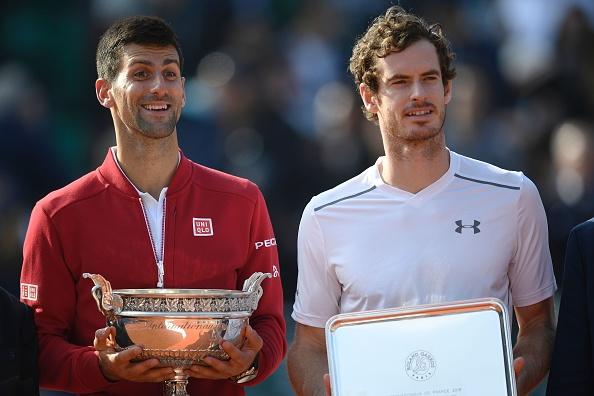 Nole y Andy tras la final de Roland Garros | Getty