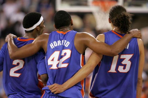 Brewer, Horford y Noah, un tridente que dominó la NCAAB   Getty